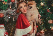 outfit natalizio donna