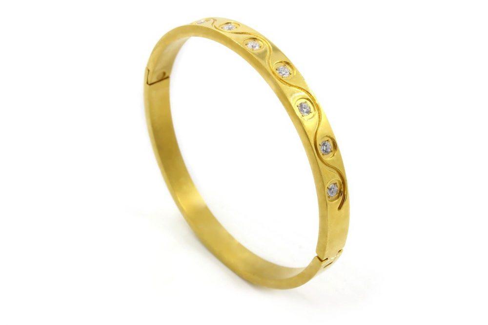 bracciale oro giallo